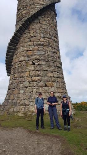 Lead mines chimney