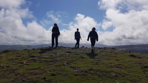 Descending from Carrickgolligan