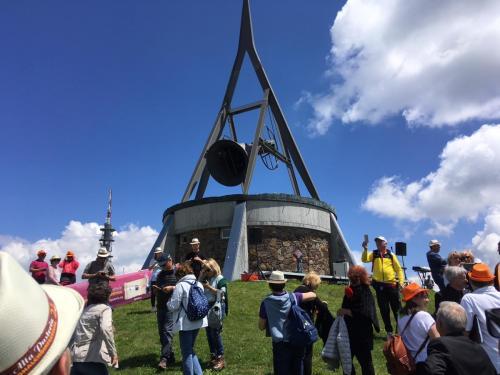 Ringing the bell on Plan de Corones