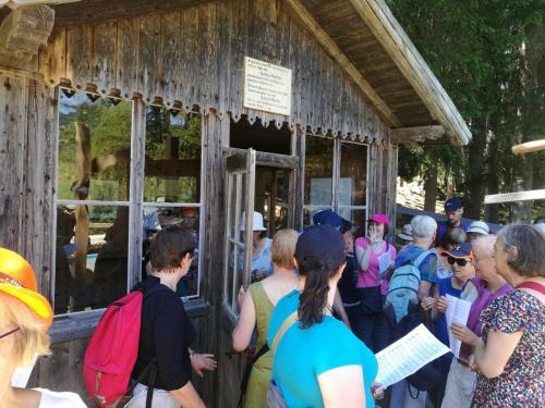 Singing at the Mahler composer hut, Tobalch