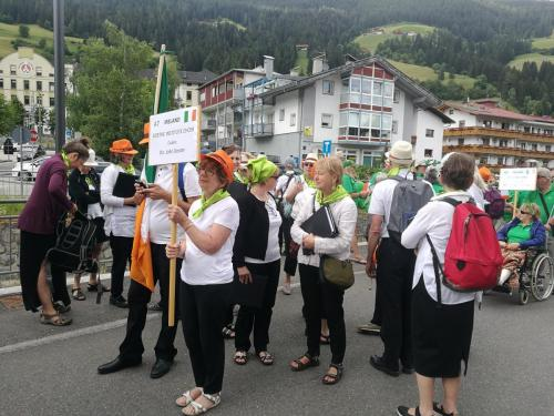In the parade of choir, San Candido